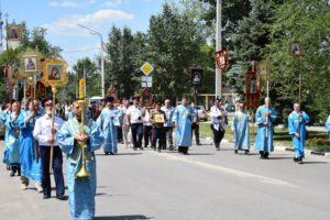 В День Явления Урюпинской иконы Божией Матери