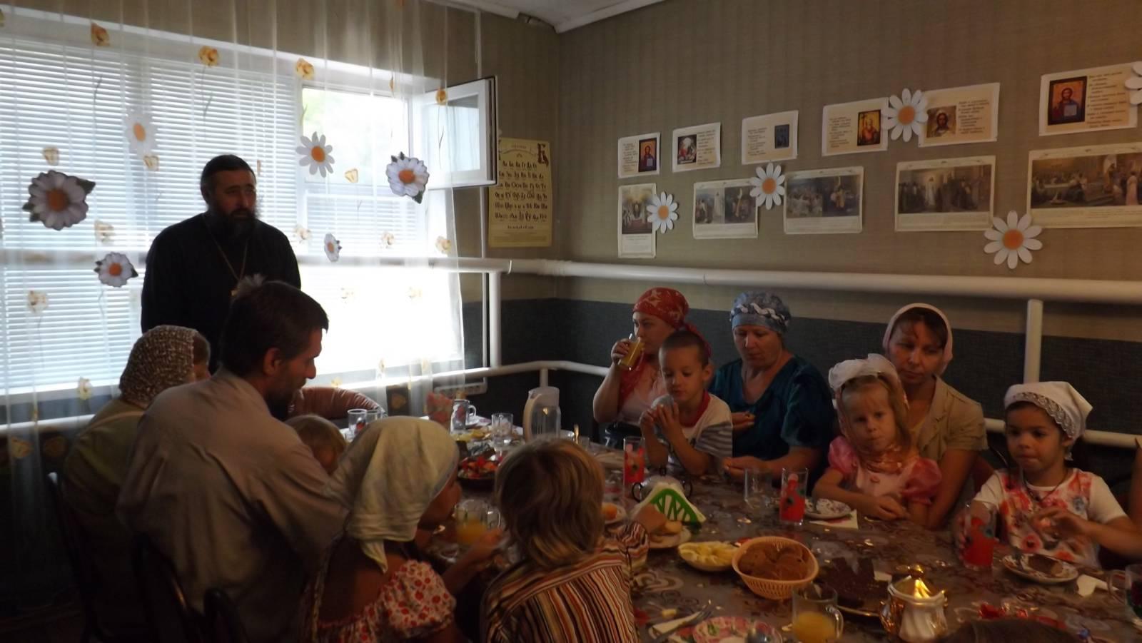 День семьи, любви и верности в Новоаннинском