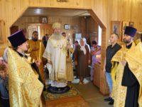 Всенощное Бдение в больничном храме имени Агапита Печерского г. Михайловка