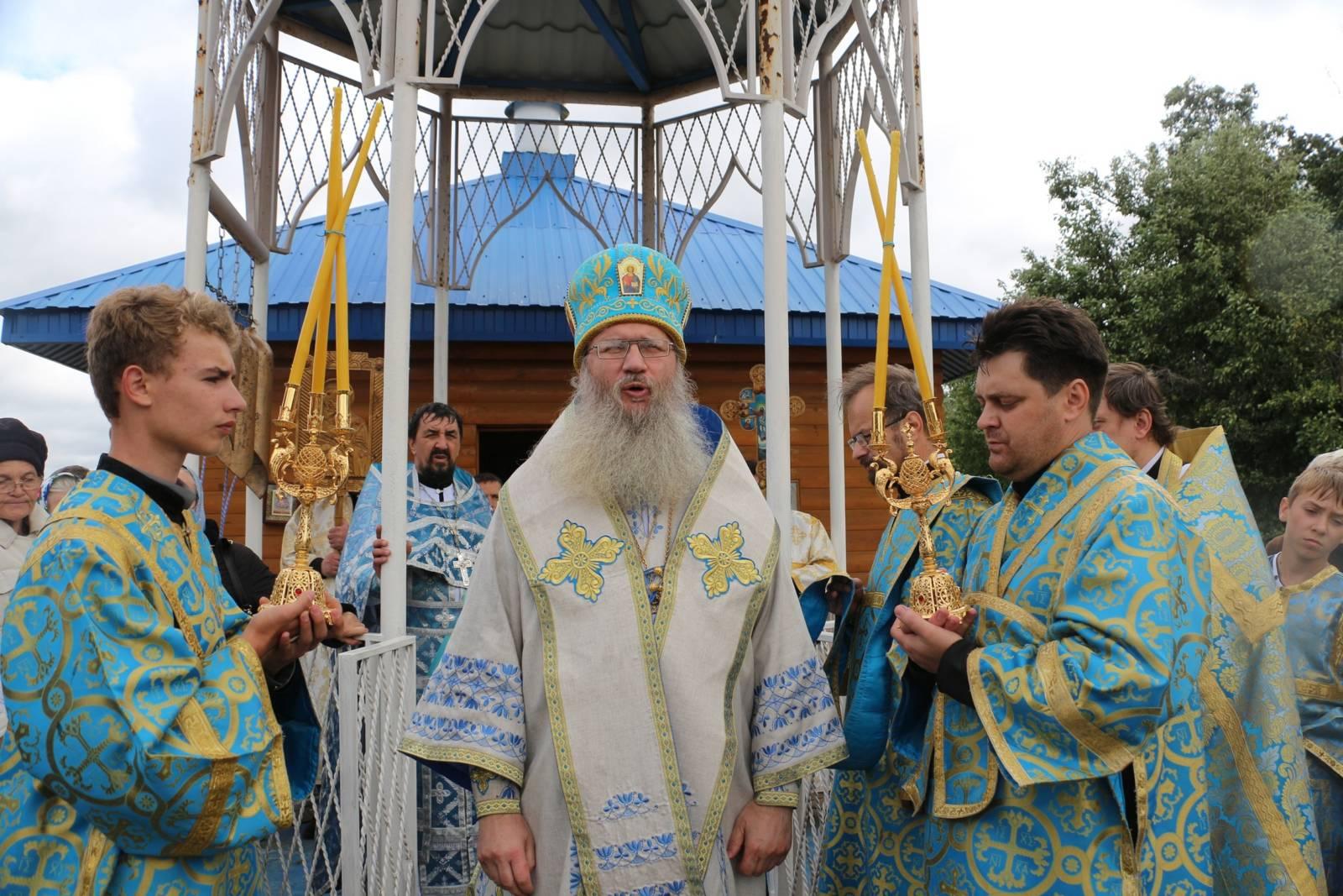 В празднование Почаевской иконы Божией Матери