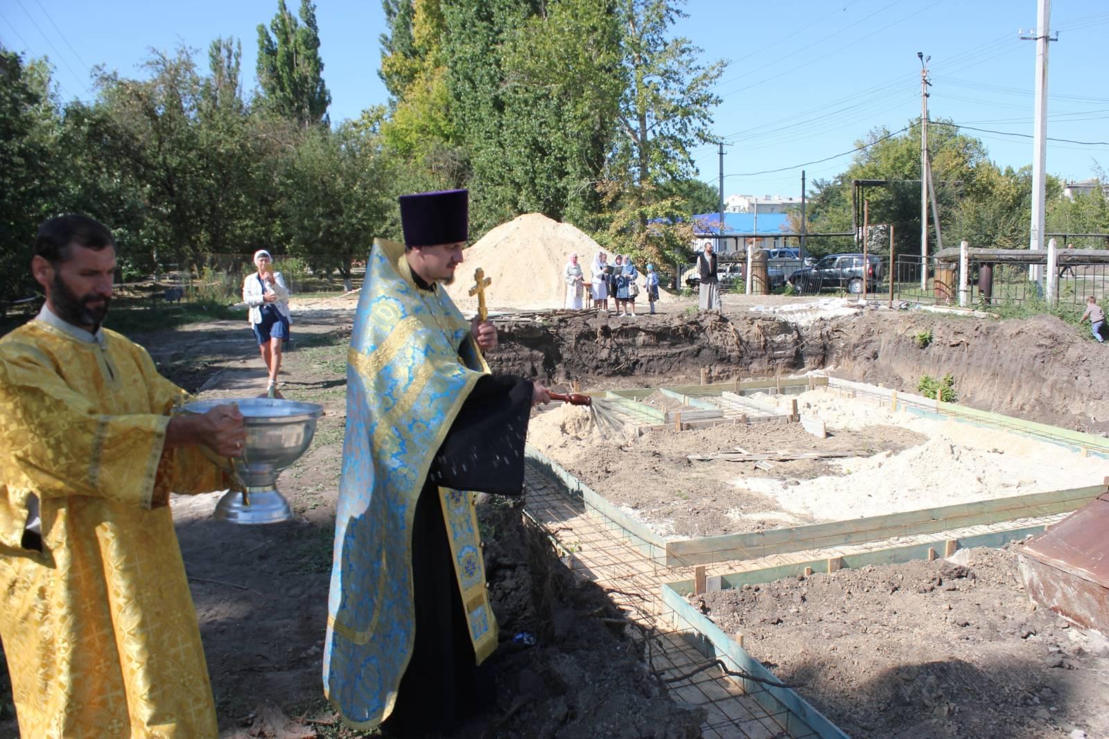 В Михайловке начинается строительство нового храма