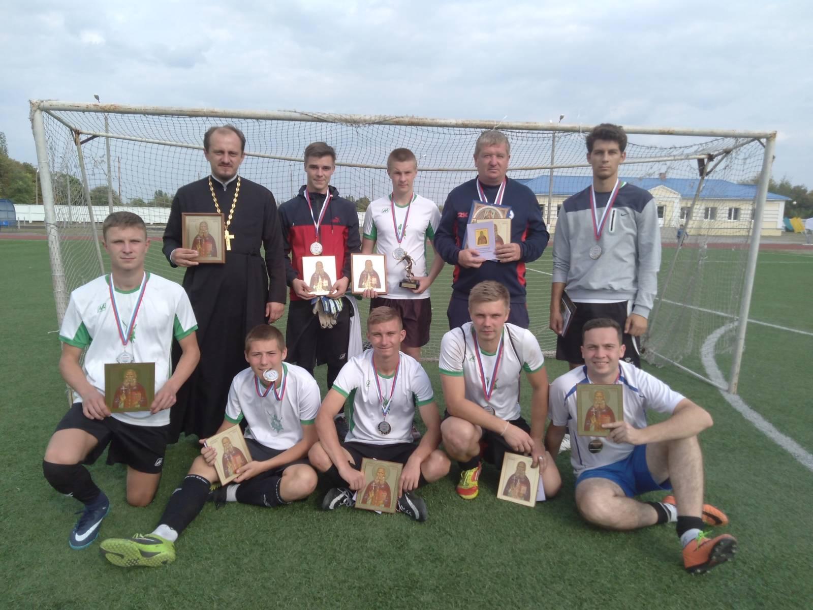 Наши футболисты — призёры межъепархиального турнира