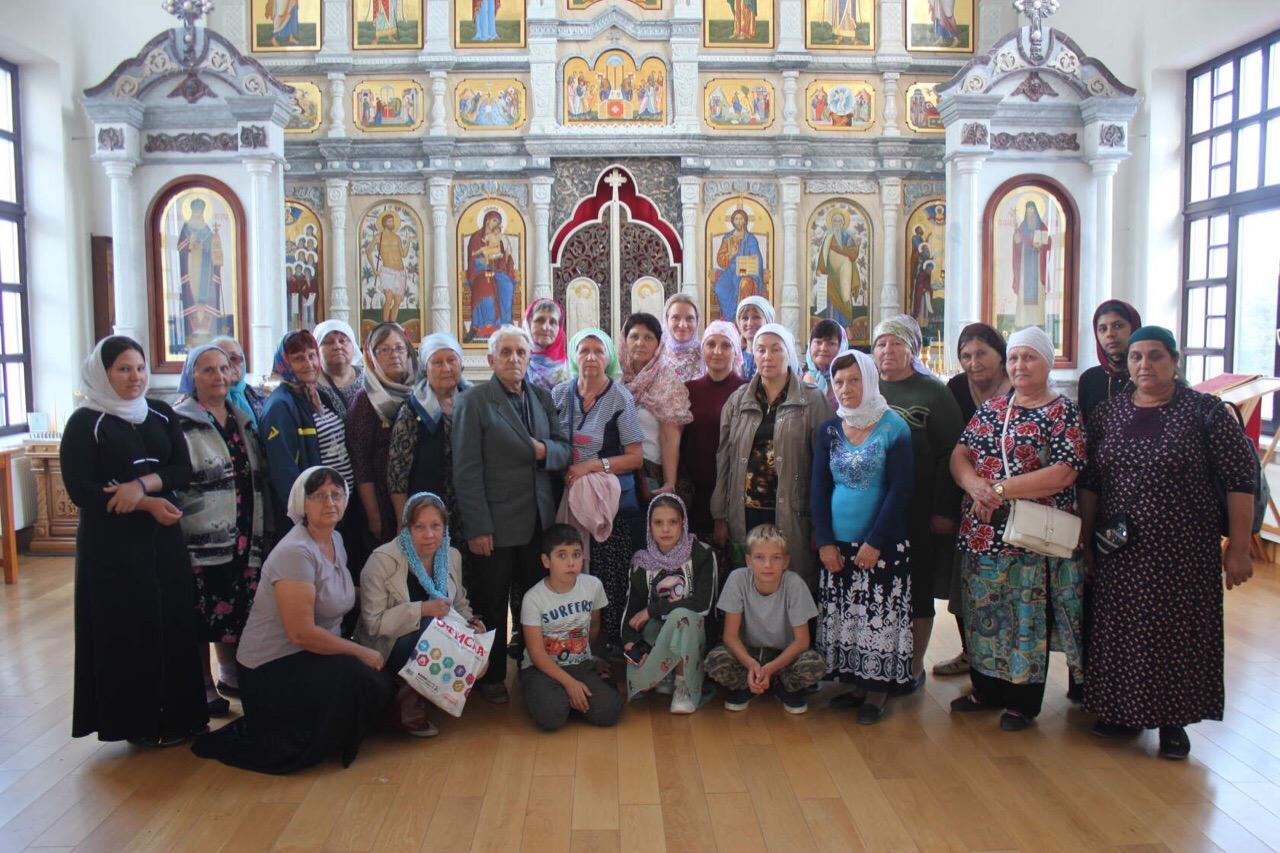 Паломническая поездка михайловцев