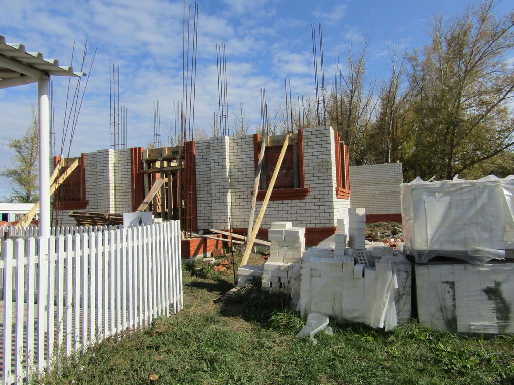 В Дубовском строится храм