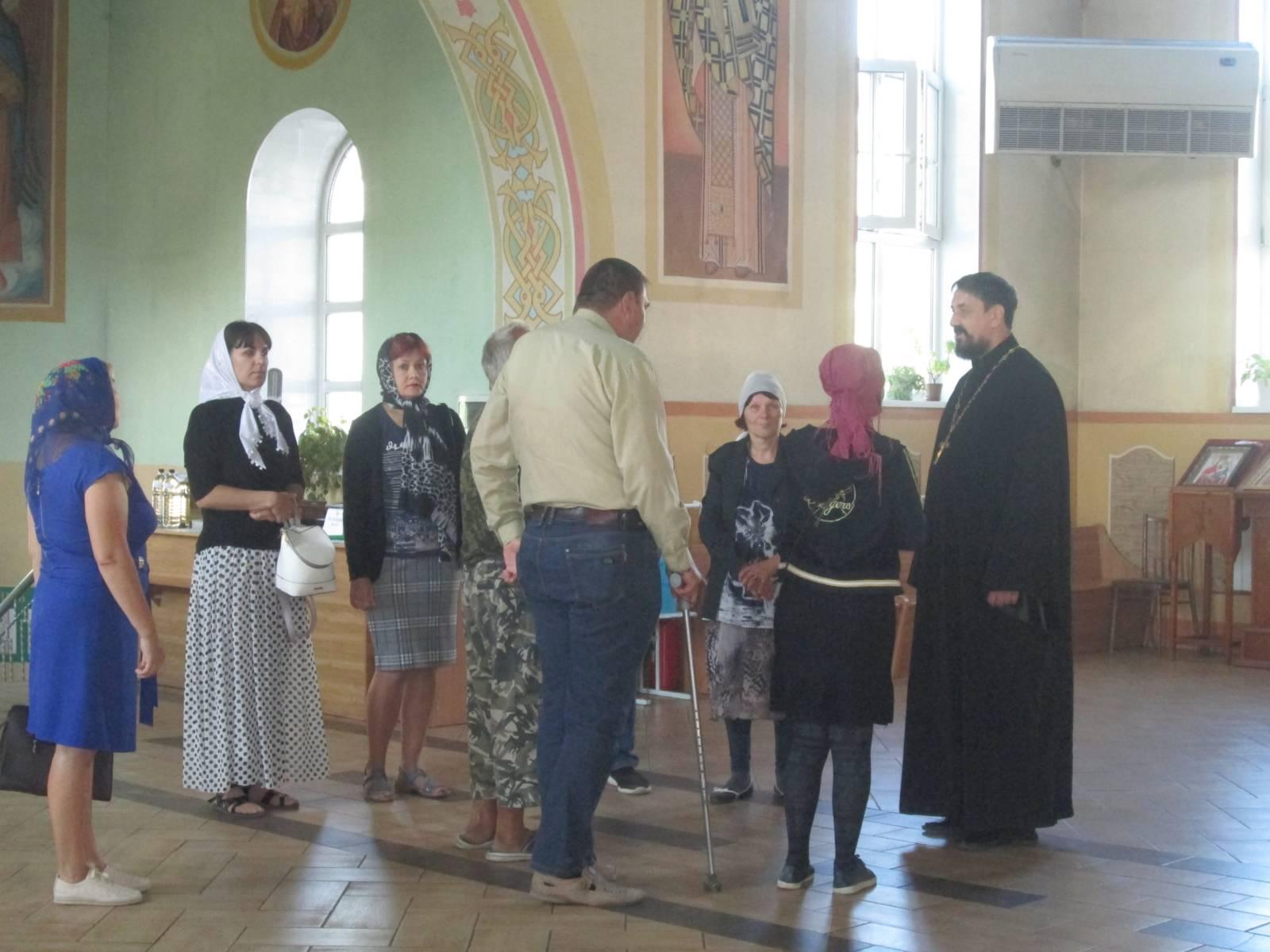 Экскурсия в Богоявленском храме
