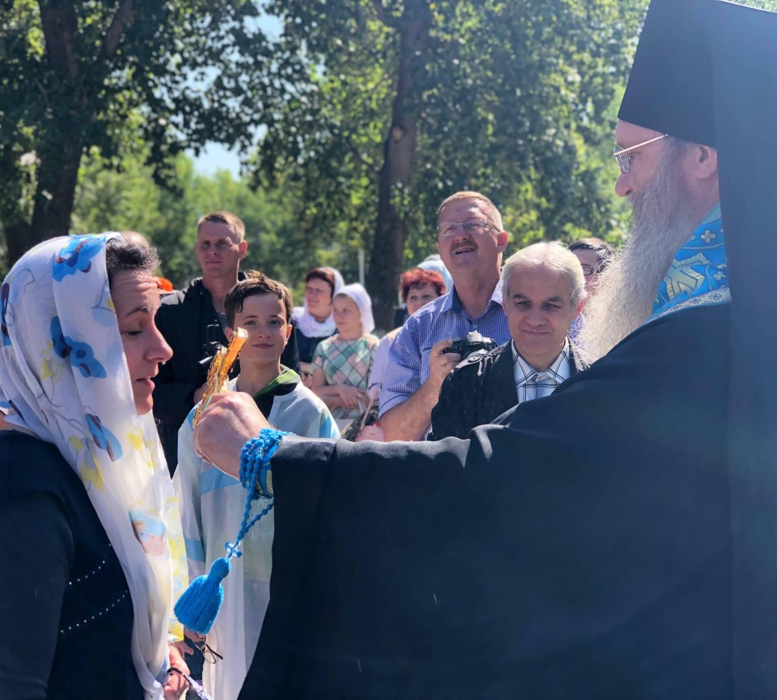 Молебен для учащих и учащихся в Жирновске