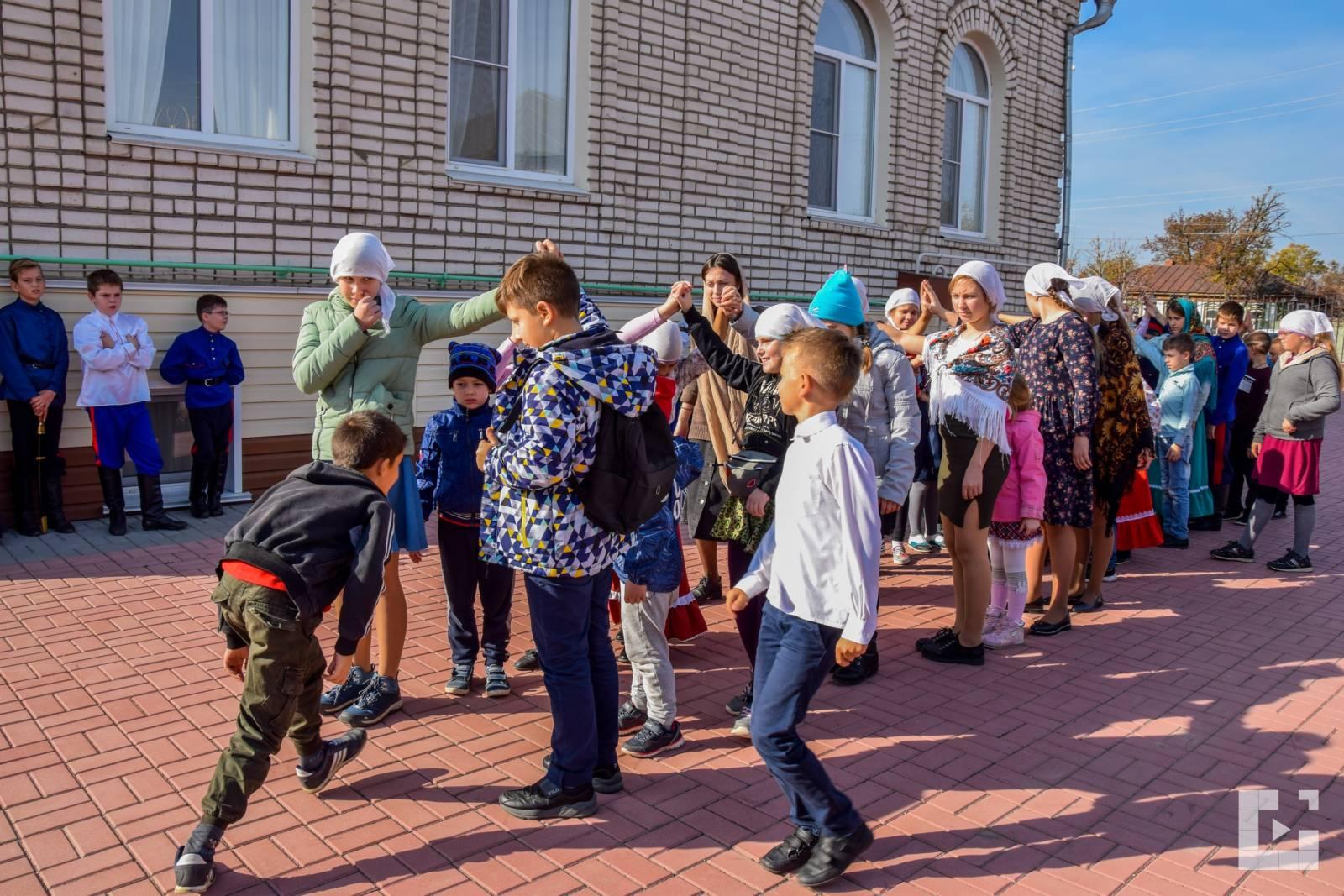Покровский праздник в воскресной школе
