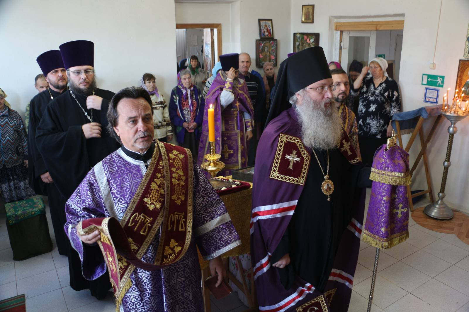 В день памяти мчч. и испп. Михаила и Феодора чудотворцев