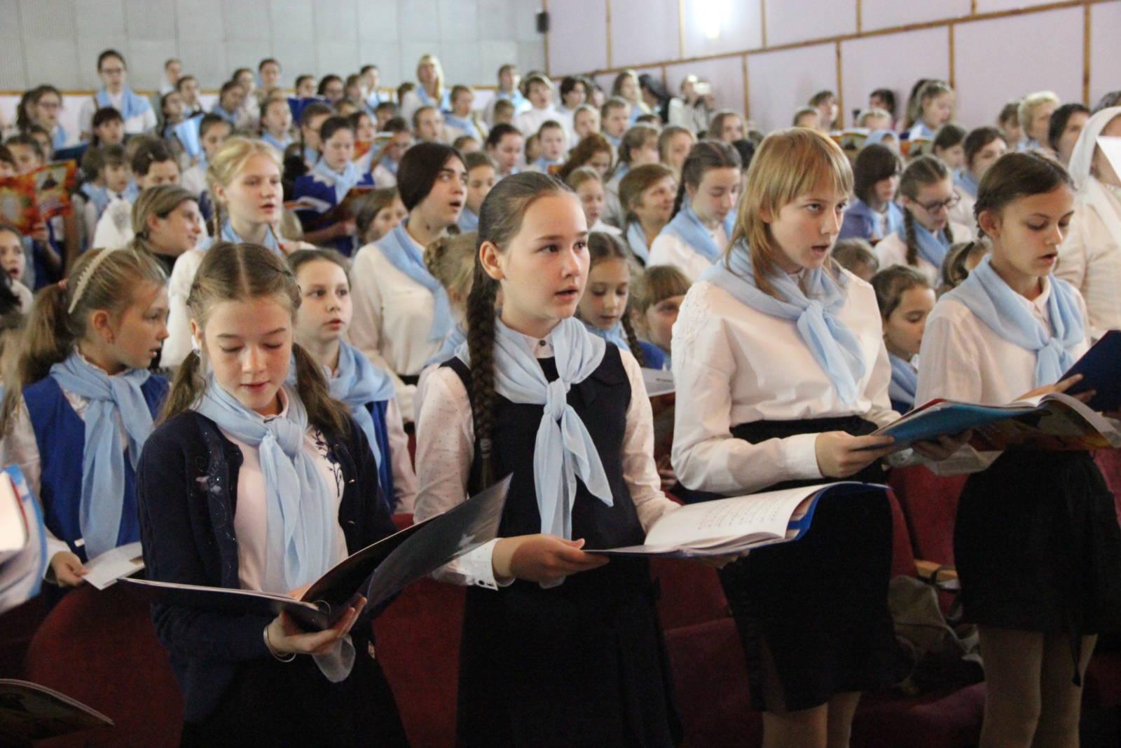 Покровский хоровой собор (видео)