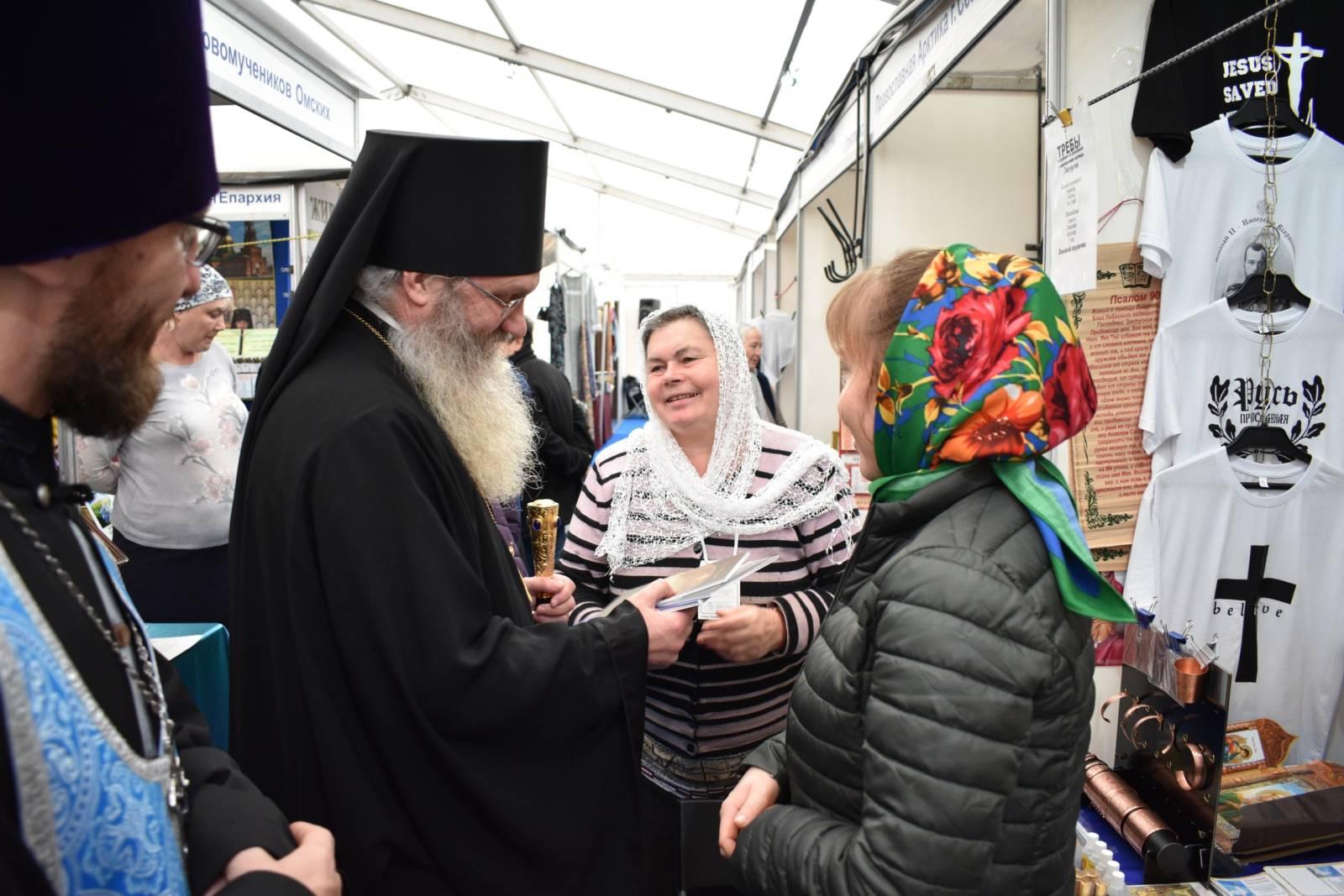 Владыка Елисей посетил православную ярмарку