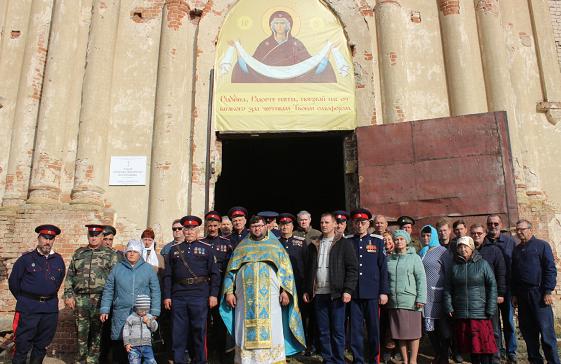 Покровский праздник в Тишанской