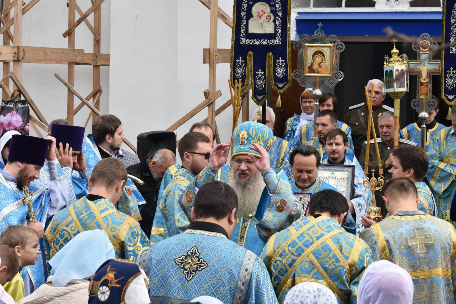 Престольный день Покровского собора