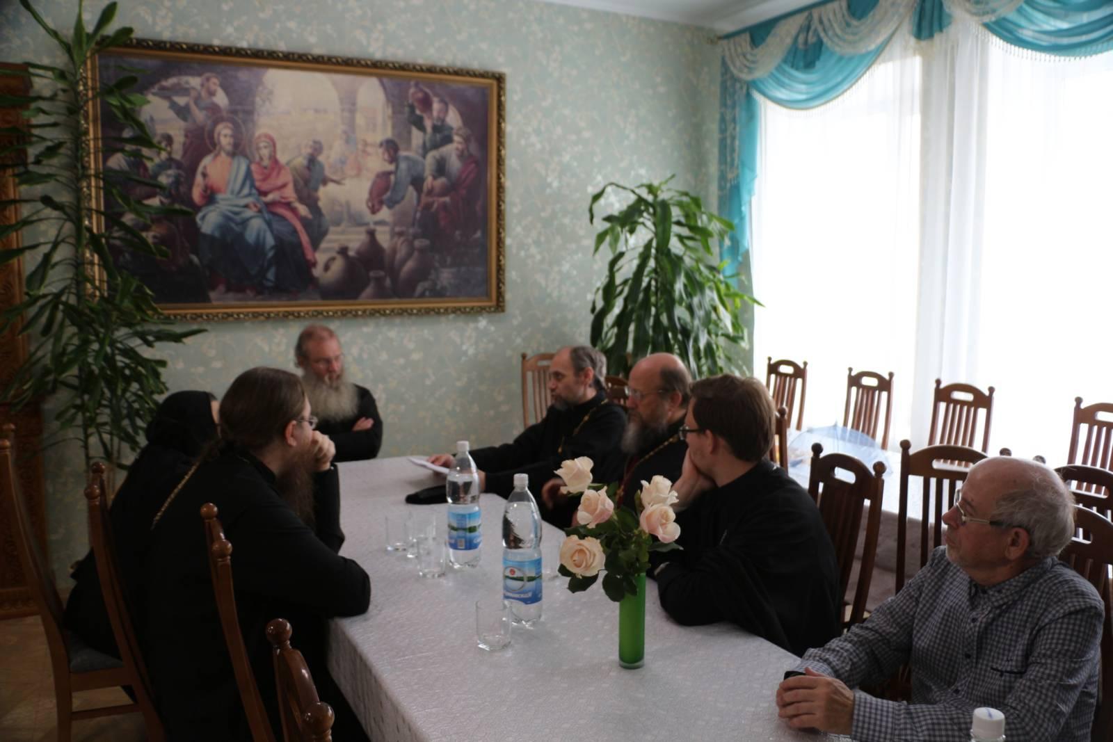 Заседание комиссии по канонизации