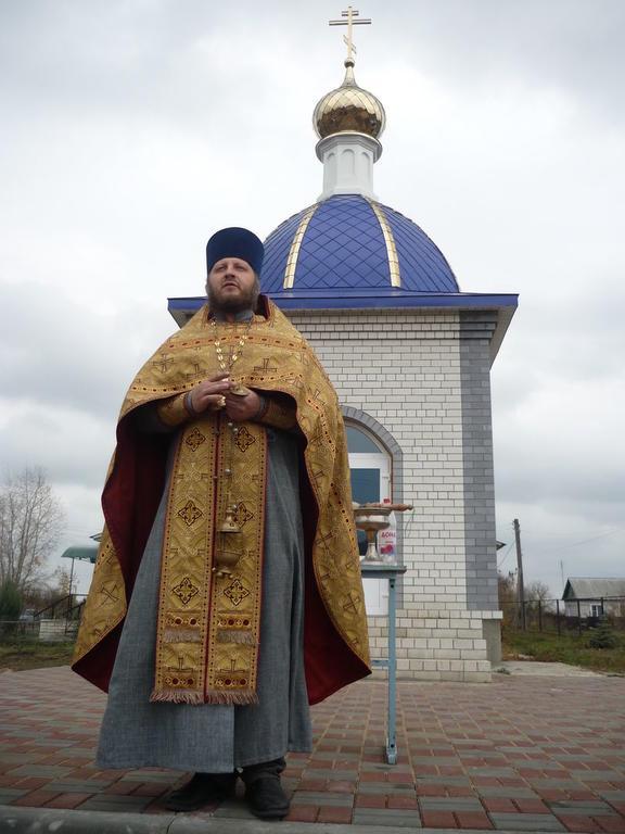Освящение часовни в Бочарах