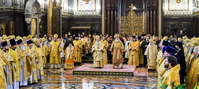 В день Собора Архистратига Михаила
