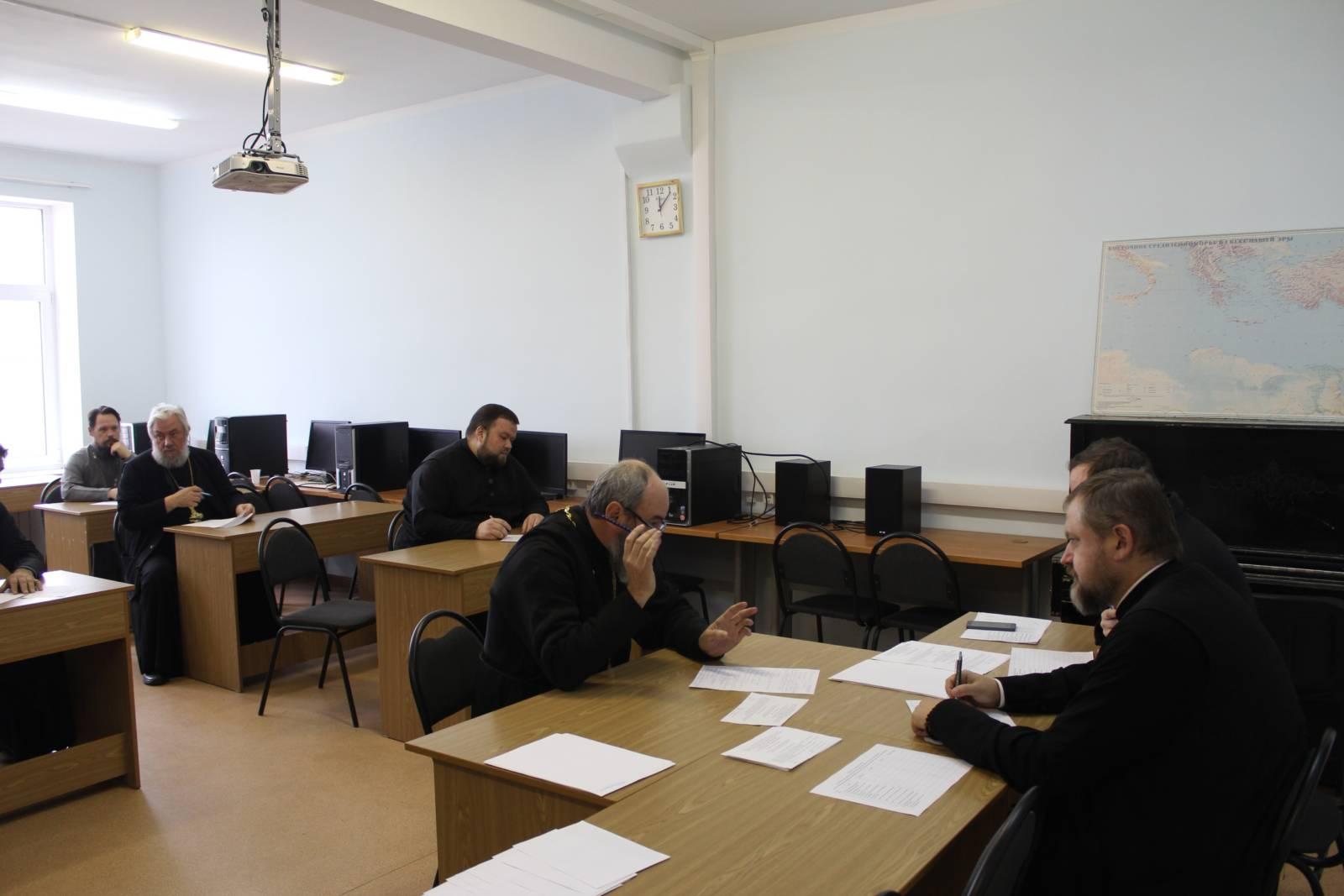 Клирики епархии повысили квалификацию
