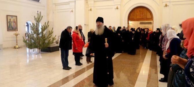Архиерейский визит в монастырь