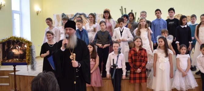 Рождественская ёлка Покровского собора
