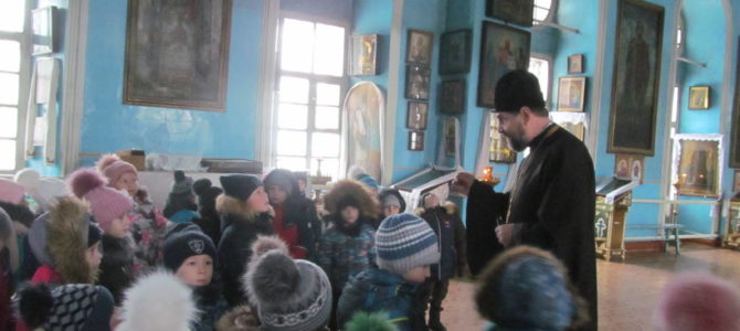 Экскурсия в еланском храме