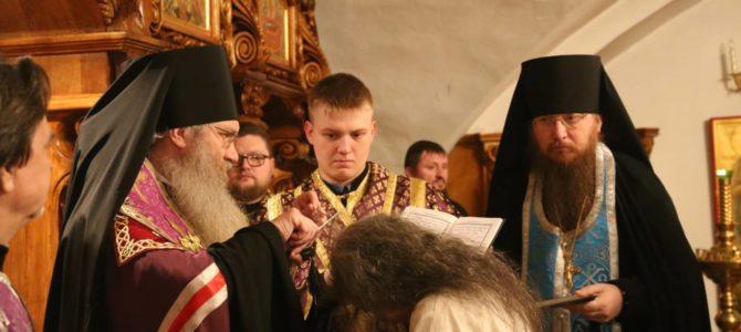 Монашеский постриг в Усть-Медведицкой обители