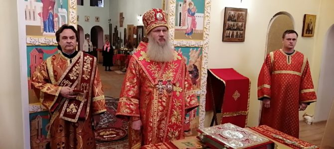 В канун дня памяти свт. Николая Чудовторца