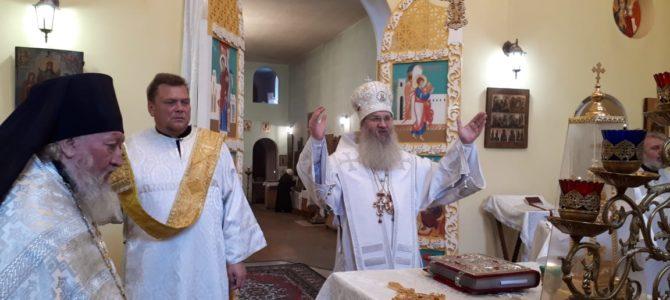 В празднование Владимирской иконы Божией Матери