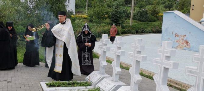 Панихида по монахине Раисе (Кривошлыковой)