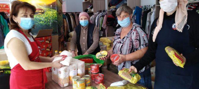 Гуманитарная помощь от Синодального соцотдела