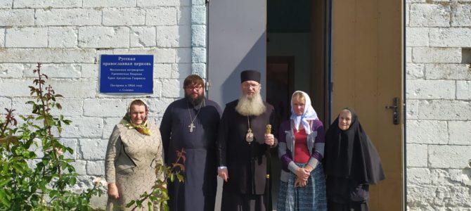 Посещение приходов Нехаевского района