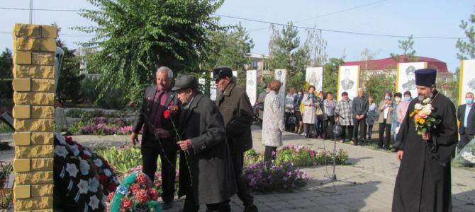 В Елани почтили память ликвидаторов аварии на п/о «Маяк»