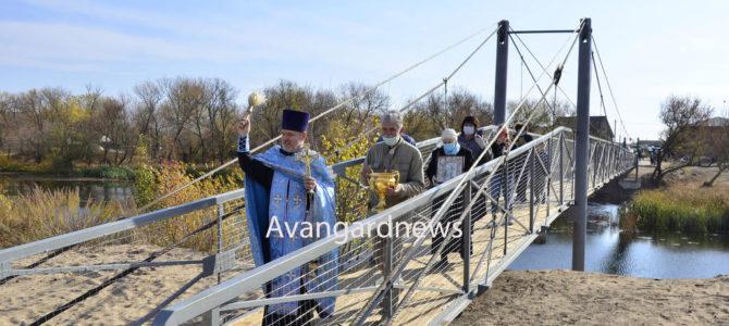 В Филоновской освятили новый мост