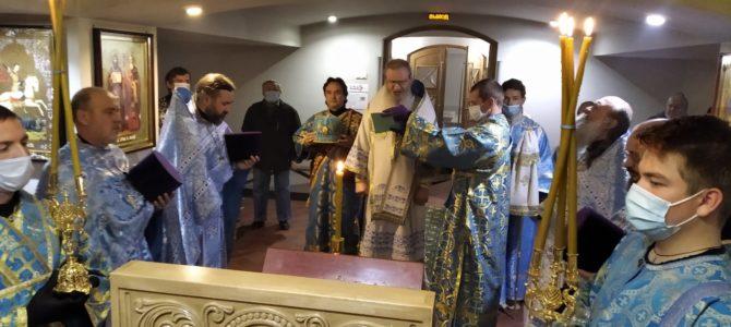 Архиерейское богослужение и заседание епархиального совета