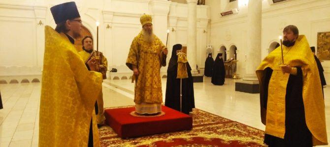 В канун дня памяти апостола Филиппа