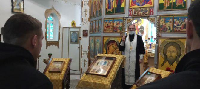 Священник посетил ЛИУ-23