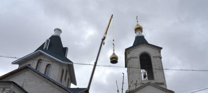 Над Урюпинском вознёсся православный крест