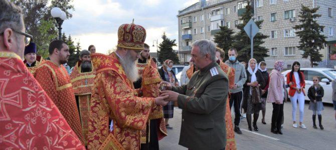 Прибытие благодатного огня в Урюпинск